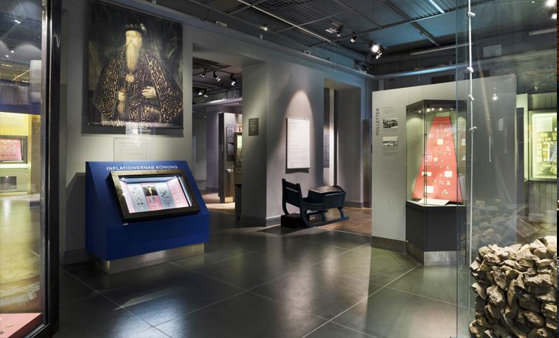 Королевский монетный шкаф в Стокгольме