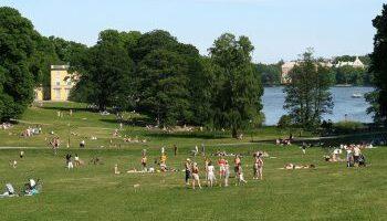 Парки в Стокгольме