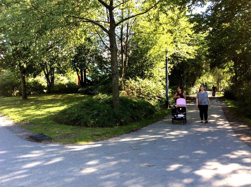 Liljeholmen парк
